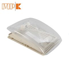 MPK Clear Dome Rooflight With Flynet & Blind 280 x 280