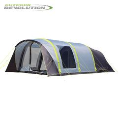 Outdoor Revolution Cruiz 6.0 TXL Air Tent With Free Snugrug - 2019 Model