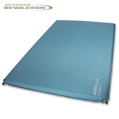 Outdoor Revolution Outdoor Revolution Camp Star 75mm Double Self Inflating Sleeping Mat