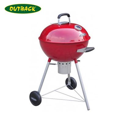 Outback Outback Comet Charcoal Kettle In Red