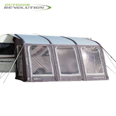 Outdoor Revolution Outdoor Revolution E-Sport Air 400 Awning With FREE Carpet - 2020 Model