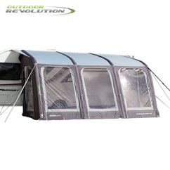 Outdoor Revolution E-Sport Air 400 Awning With FREE Carpet - 2020 Model