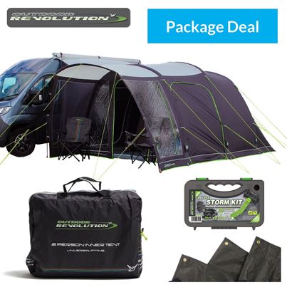 Outdoor Revolution Outdoor Revolution Cayman Cacos Air Driveaway Awning Package Deal