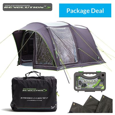 Outdoor Revolution Outdoor Revolution Cayman Cacos Uno Air Driveaway Awning Package Deal