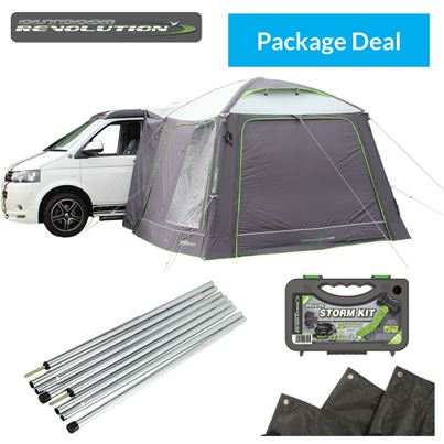 Outdoor Revolution Outdoor Revolution Cayman Air Driveaway Awning Package Deal