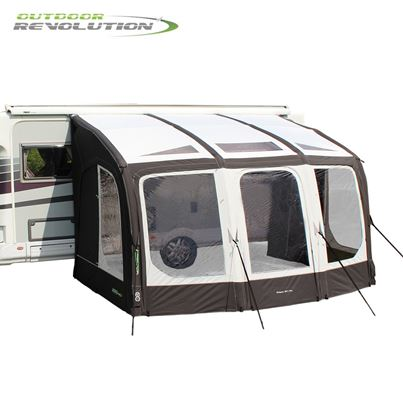 Outdoor Revolution Outdoor Revolution Eclipse Pro 380 Caravan Awning With FREE Carpet - 2020 Model
