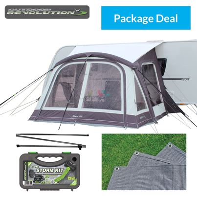 Outdoor Revolution Outdoor Revolution Elan 340 Air Awning Package Deal