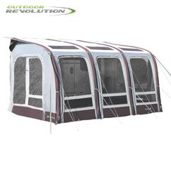 Outdoor Revolution Elise 390 Awning With FREE Carpet - 2019 Model