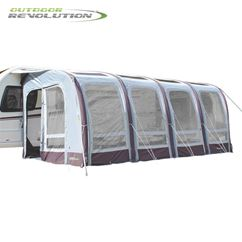 Outdoor Revolution Elise 520 Awning With FREE Carpet - 2019 Model