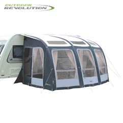 Outdoor Revolution Esprit 360 Pro S Caravan Awning With FREE Carpet - 2019 Model