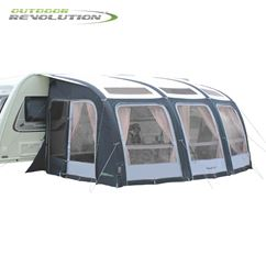 Outdoor Revolution Esprit 420 Pro Caravan Awning With FREE Carpet - 2019 Model