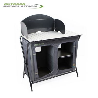 Outdoor Revolution Outdoor Revolution Kitchen Stand With Windshield