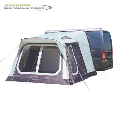 Outdoor Revolution Outdoor Revolution Movelite T1 Low-Midline Driveaway Awning With FREE Groundsheet - 2020 Model