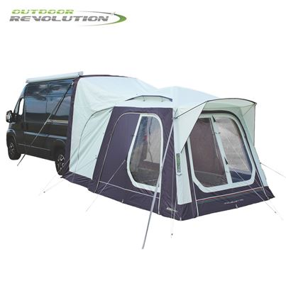 Outdoor Revolution Outdoor Revolution Movelite T1 Tail Low-Midline Driveaway Awning With FREE Groundsheet - 2020 Model
