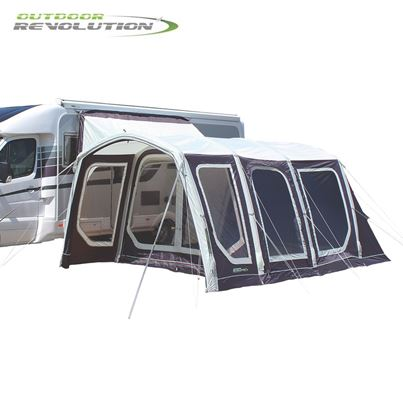Outdoor Revolution Outdoor Revolution Movelite T4 Lowline Air Frame Driveaway Awning - 2021 Model