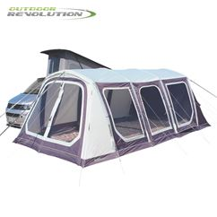 Outdoor Revolution Movelite T5 Kombi Low-Midline Driveaway Awning With FREE Groundsheet - 2020 Model