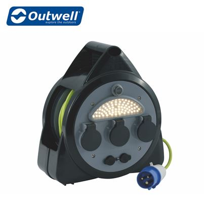 Outwell Outwell Mensa Mains 3-Way Roller Kit With USB Ports & Light - UK