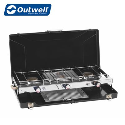 Outwell Outwell Appetizer Cooker 3-Burner Stove w/Grill