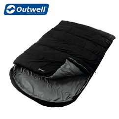 Outwell Campion Lux Double Sleeping Bag - Black