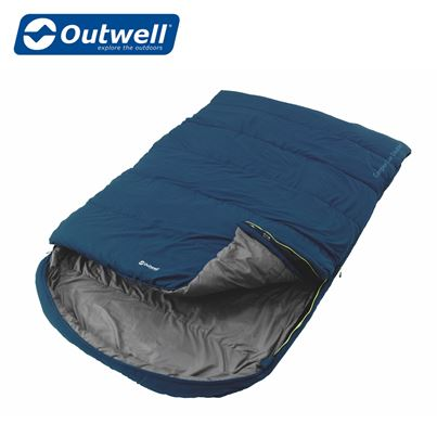 Outwell Outwell Campion Lux Double Sleeping Bag - Blue