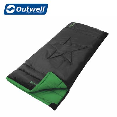 Outwell Outwell Cave Kids Sleeping Bag - Black