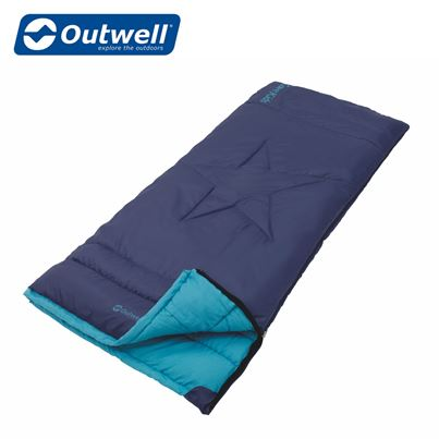 Outwell Outwell Cave Kids Sleeping Bag - Navy