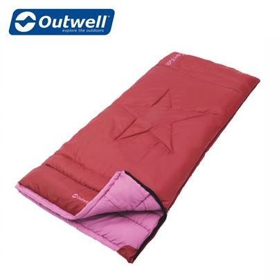 Outwell Outwell Cave Kids Sleeping Bag - Red