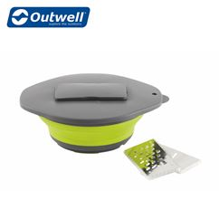 Outwell Collaps Bowl & Lid With Grater