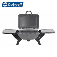 Outwell Colmar Gas BBQ With Side Table