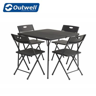 Outwell Outwell Corda 4 Person Table and Chair Picnic Set
