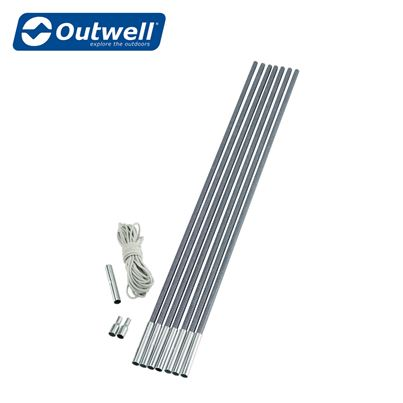 "Outwell Outwell Durawrap ""Do It Yourself Kit"" Tent Pole Kit - Range of Sizes"