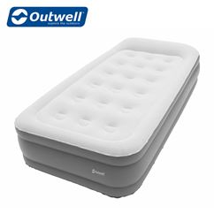 Outwell Flock Superior Single Airbed - With Built In Pump