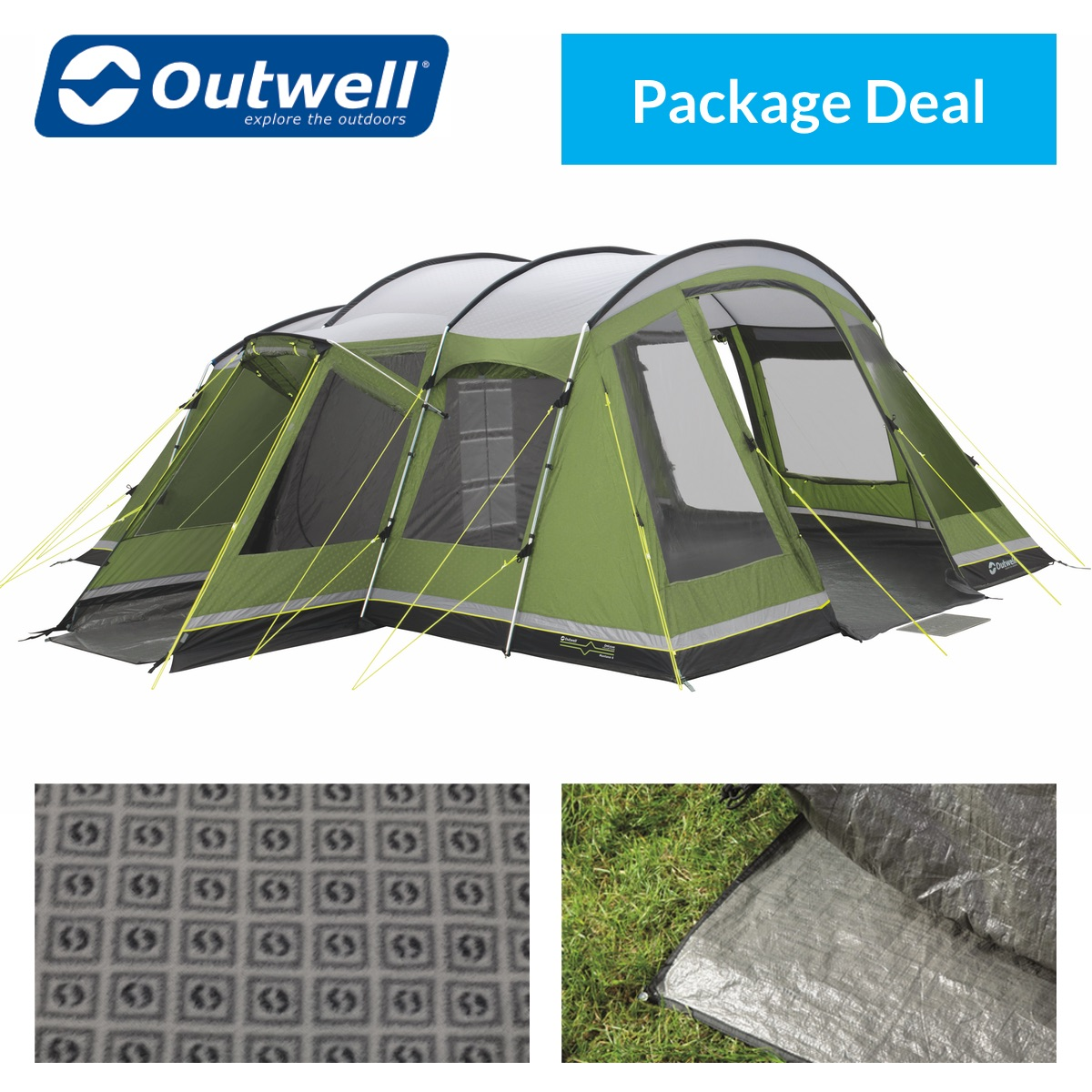 Outwell Montana 6 Tent Package Deal  sc 1 st  Purely Outdoors & Outwell Montana 6 Tent | Purely Outdoors