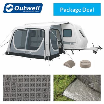 Outwell Outwell Pebble 360A Caravan Awning Package Deal