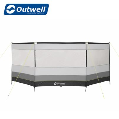 Outwell Outwell Premium Round Windscreen in Grey & Black