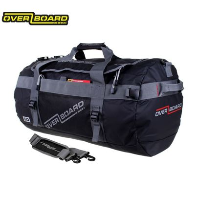 Overboard Overboard Adventure Duffel Bag - Black - 60L