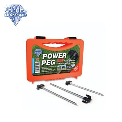 Blue Diamond Blue Diamond Hard Ground Pro - 20 Tent & Awning Pegs