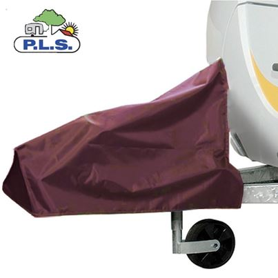 Pennine PLS Extra Large Burgundy Caravan Hitch Cover