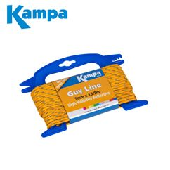 Kampa Fluorescent Guy Line 5mm x 15.2m