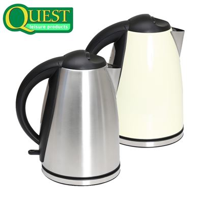 Quest Quest Stainless Steel 240V Kettle - 1.8L