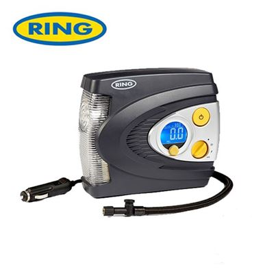Ring Ring Preset Digital Air Compressor with LED light