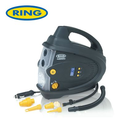 Ring Ring Digital Air Compressor With Inflator & Deflator Capability