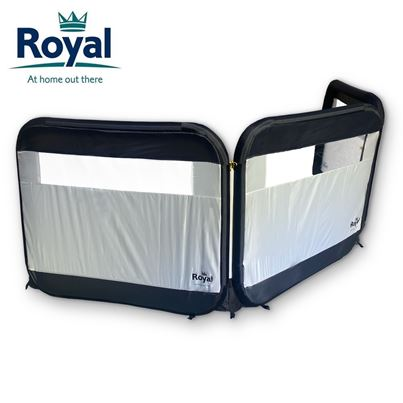Royal Royal 3 Panel Air Windbreak With FREE Pump