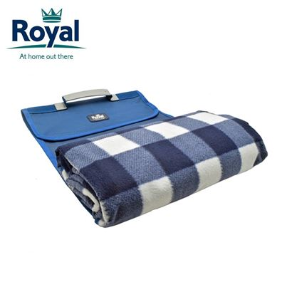 Royal Royal Roll Up Picnic Blanket