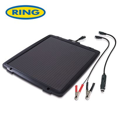 Ring Ring 12V 6.0w Solar Power Battery Maintainer