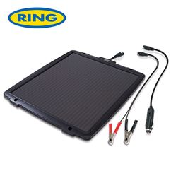 Ring 12V 6.0w Solar Power Battery Maintainer