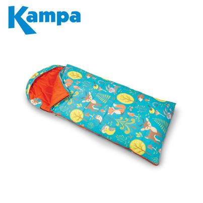 Kampa Kampa Woodland Creatures Childrens Sleeping Bag