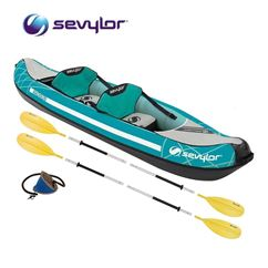 Sevylor Madison Kayak Kit - Includes 2 Paddles