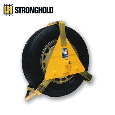 "Maypole Stronghold 10-14"" Wheel Clamp"
