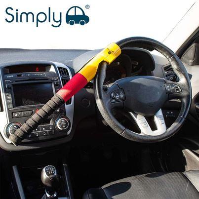 Simply Simply Baseball Steering Wheel Lock